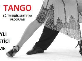A. TANGO MEB onaylı Usta Dans Öğreticisi Yetiştirme Kursu